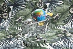 Kapitalizm niszczy planetę ilustracja wektor