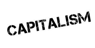 Kapitalizm pieczątka ilustracja wektor