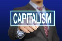 Kapitalizmu pojęcie fotografia stock