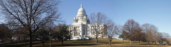 Kapitalpanorama Providence-Rhode Island Lizenzfreie Stockfotos