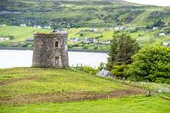 Kapitanów Frasers głupota w Uig, wyspa Skye, Szkocja - obraz royalty free