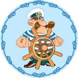 kapitan Obraz Royalty Free