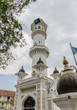 Kapitan Keling清真寺在乔治市,马来西亚 图库摄影