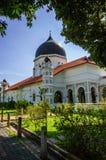 Kapitan Keling清真寺,乔治市,槟榔岛,马来西亚 免版税库存照片