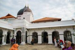 Kapitan Keling清真寺,乔治市,槟榔岛,马来西亚 免版税库存图片