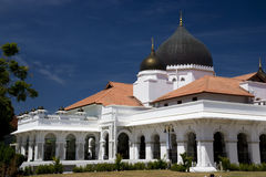 kapitan keling的马来西亚清真寺 免版税图库摄影