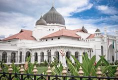 Kapitan keling mosque Royalty Free Stock Image