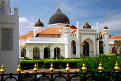 Kapitan Keling Mosque Royalty Free Stock Images