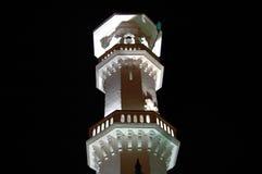 Kapitan Keling mosque minaret at night Stock Photos