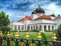 Kapitan Kling Mosque. In Georgetown, Penang, a UNESCO World Heritage Site Stock Photo