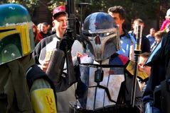 Kapitan Rex på Star Wars Royaltyfri Bild
