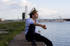 kapitanie Zdjęcia Royalty Free