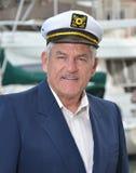 kapitanu żeglarz fotografia stock