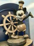 Kapitanu Micky myszy statek Zdjęcia Stock