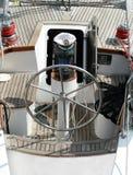 kapitanu rudder cyrklowy kapeluszowy s Zdjęcie Royalty Free