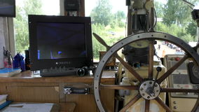 Kapitanu ` s kabina Morski ster zbiory wideo