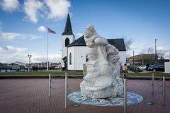 Kapitanu Scott pomnik Fotografia Royalty Free