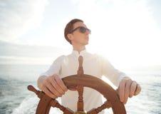 kapitein royalty-vrije stock fotografie