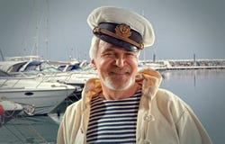kapitein Royalty-vrije Stock Foto's