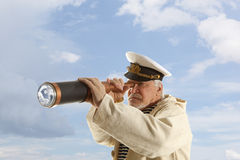 kapitein Stock Foto's