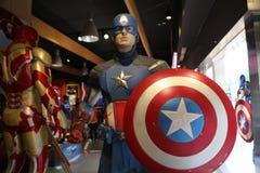 Kapitein Amerika Royalty-vrije Stock Afbeeldingen
