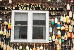 Kapitein Cass, Cape Cod royalty-vrije stock fotografie