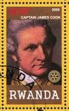 Kapitein James Cook stock afbeelding