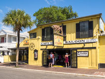 Kapitein Tonys Saloon in Key West Royalty-vrije Stock Fotografie