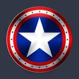 Kapitein van Amerika stock illustratie