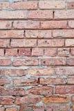 Kapitel der alten Backsteinmauer Stockfoto