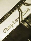 kapitel ett Arkivbild