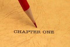 Kapitel ett fotografering för bildbyråer