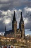 Kapitel-Kirche von Str. Peter und Paul lizenzfreie stockbilder
