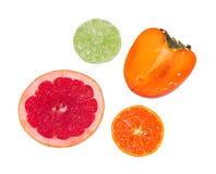Kapitel von etwas Früchten lizenzfreie stockbilder