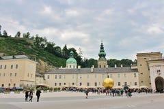 Kapitelplatz, Salzburg Royalty Free Stock Photo