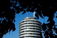 Kapitol-Aufzeichnungen Lizenzfreie Stockfotos