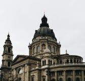 Kapitol in Budapest stockbilder