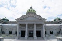 Kapitol, das Harrisburg, Pennsylvania errichtet stockbild