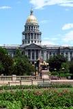 Kapitol-Gebäude - Denver, Kolorado Stockbild