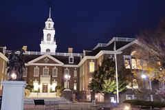 Kapitol-Gebäude in Dover, Delaware. Stockbilder