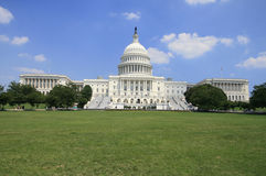 Kapitol-Gebäude im Washington DC lizenzfreie stockfotos