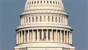 Kapitol-Gebäude Vereinigter Staaten, Washington, DC stock video