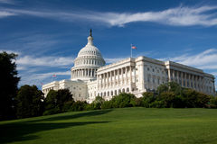 Kapitol-Gebäude, Washington DC Lizenzfreie Stockfotos