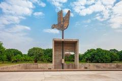 Kapitol-Komplex, Chandigarh Stockbild