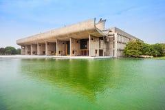 Kapitol-Komplex, Chandigarh Lizenzfreie Stockfotografie