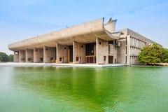 Kapitol-Komplex, Chandigarh Lizenzfreie Stockbilder