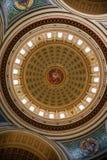 Kapitol in Madison lizenzfreie stockfotografie