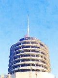 Kapitol notiert Gebäude in Hollywood lizenzfreie stockbilder