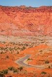 Kapitol-Riff-Geologie lizenzfreies stockfoto