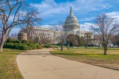 kapitol stan?w zjednoczonej Waszyngton dc USA zdjęcie royalty free